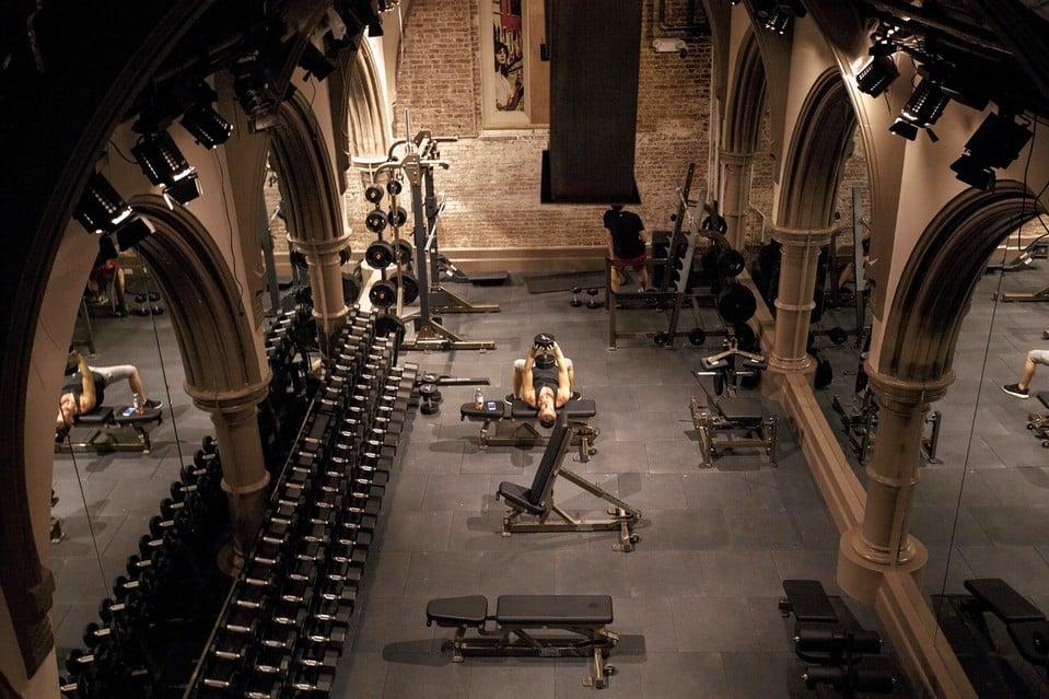Eglises américaines : nouvelles salles de fitness en vogue !