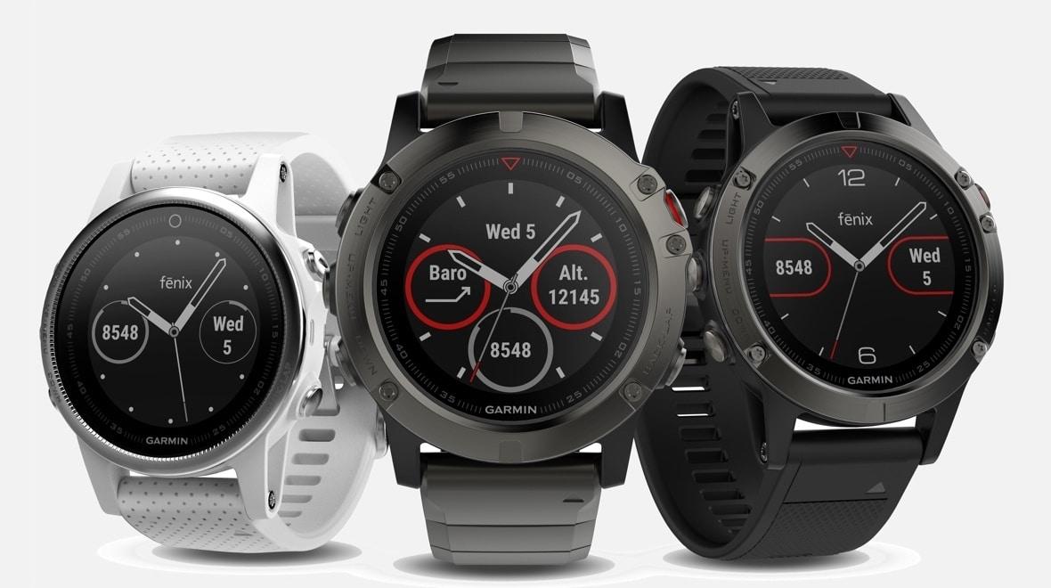 Fenix 5 SERIES de Garmin, le top de la montre fitness connectée pour tous les poignets