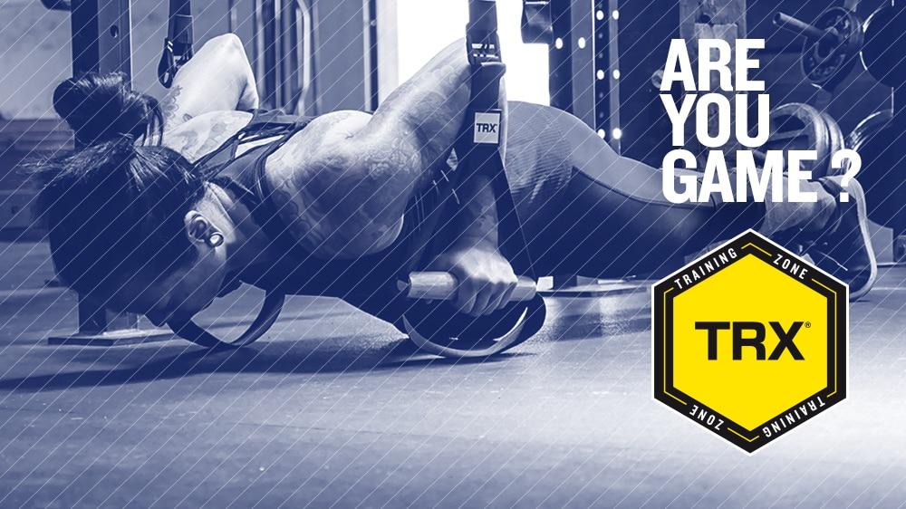 Réservez votre place pour la TRX TRAINING Zone au Salon Body Fitness !