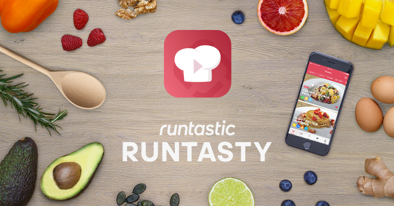 Runtastic lance Runtasty, sa nouvelle application cuisine !