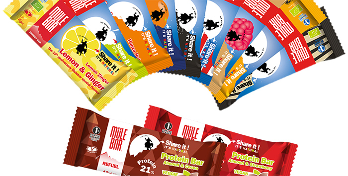 Mulebar, la nutrition sportive naturelle issue du commerce équitable !