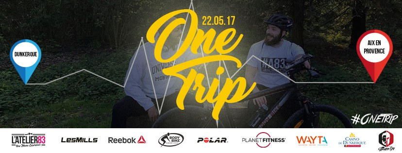 One Trip, un périple de 1200 km à vélo qui s'achève jeudi à Aix en Provence