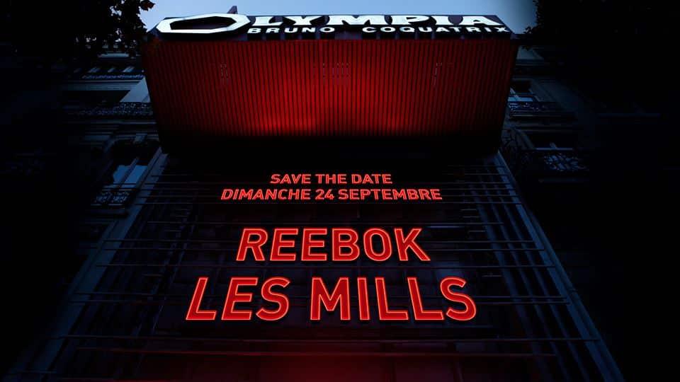 REEBOK LES MILLS LIVE à L'Olympia, l'évènement de l'année !