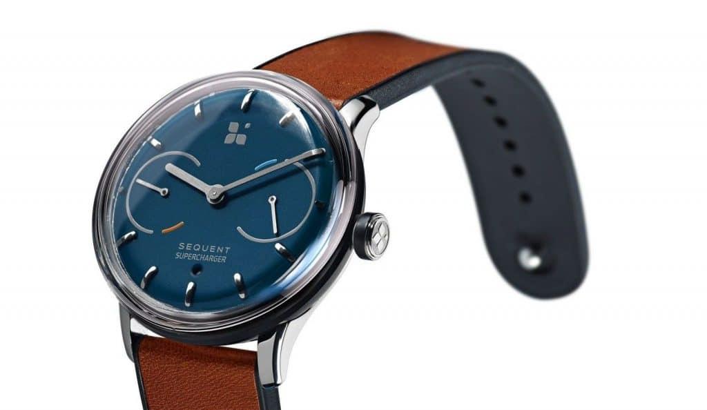 Sequent, la smartwatch sans pile à l'énergie illimitée