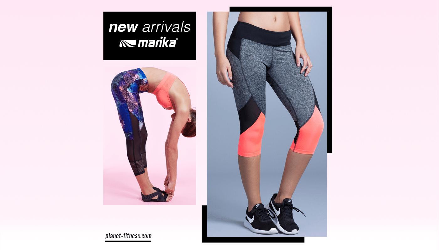 La boutique Planet Fitness dévoile sur ses rayons les nouvelles pièces de la marque Marika
