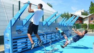 Le fitness pour tous : Vélizy inaugure un parc fitness connecté ouvert au public