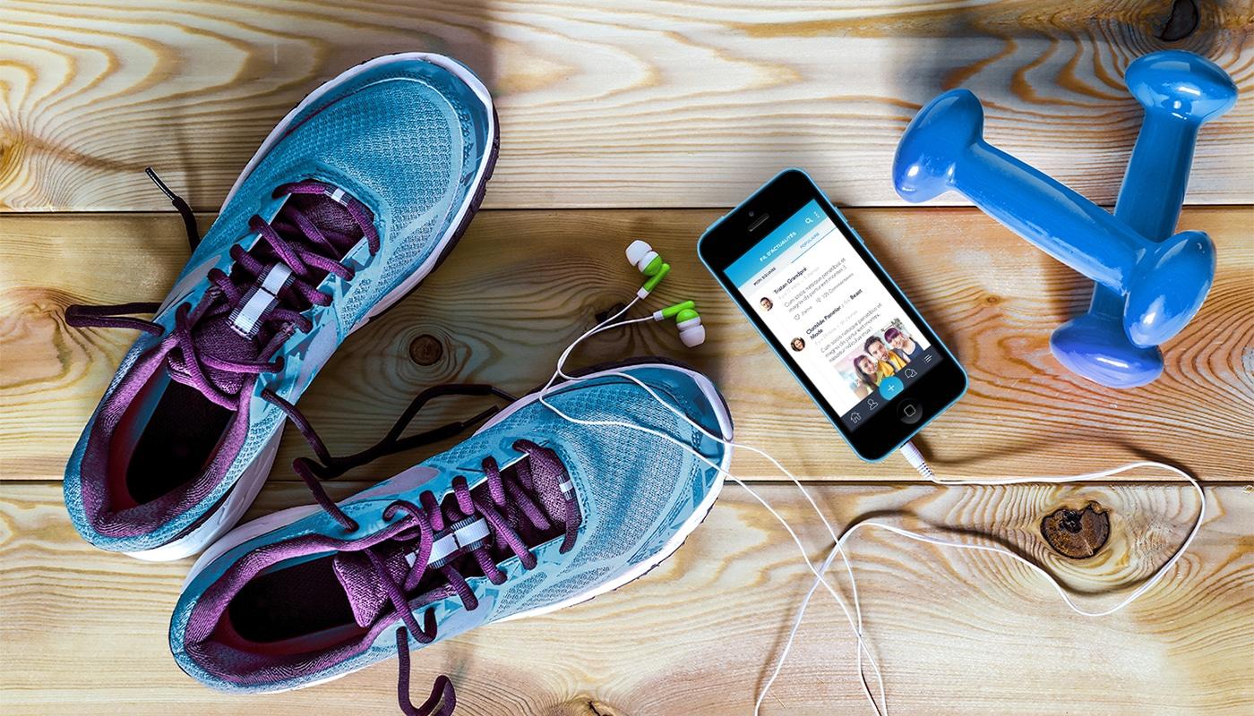 Gyms Square : le réseau social fitness qui soude la communauté des passionnés !