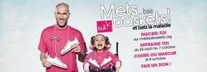 #MetsTesBaskets : un challenge solidaire et connecté pour se battre aux côtés de Zidane