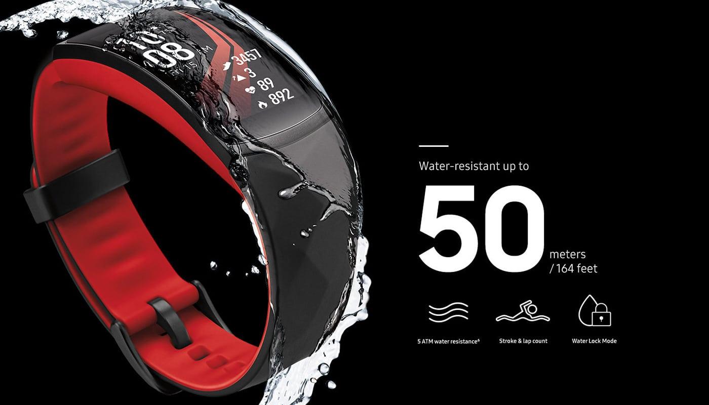 Samsung Gear Fit 2 Pro, conçus pour les fans de sports aquatiques !