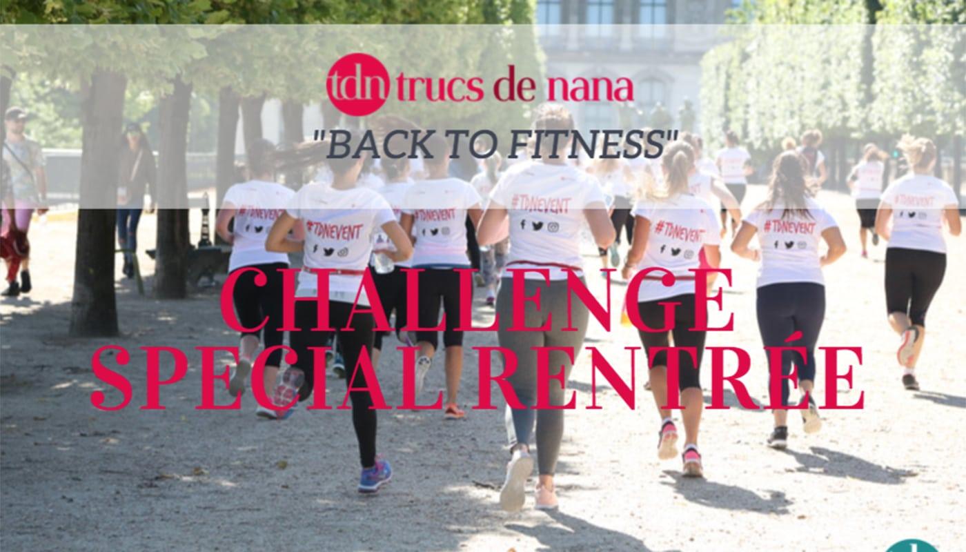 TDN Events rassemble les parisiennes en octobre pour un «Back To Fitness»