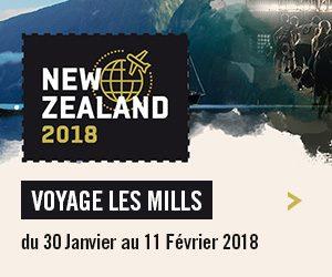 Voyage Les Mills en Nouvelle-Zélande