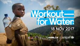 LES MILLS et UNICEF annoncent un partenariat mondial