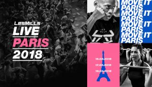 LES MILLS LIVE du 16 au 18 Mars 2018 au Salon BODY FITNESS
