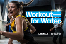 Succès mondial de la campagne WORKOUT FOR WATER