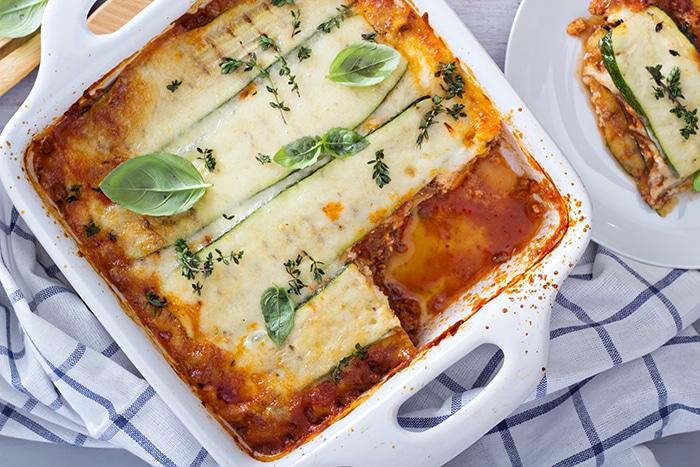 Lasagnes végétariennes, le plaisir sans la viande !