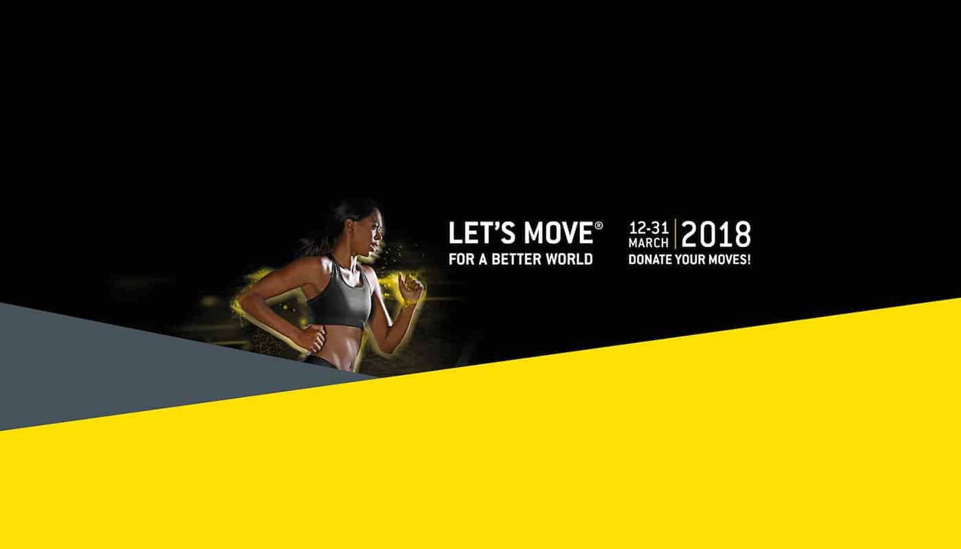 Let's Move for a Better World 2018 : bougez pour les autres !