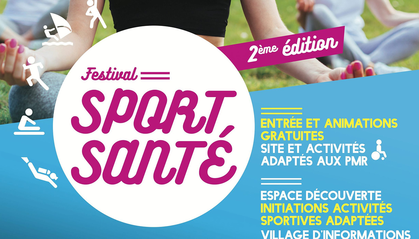2ème édition du festival Sport Santé à Marseille les 23 et 24 juin