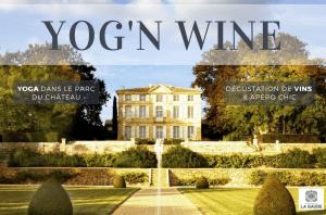 Un YOG'N WINE au château de la Gaude à Aix-en-Provence