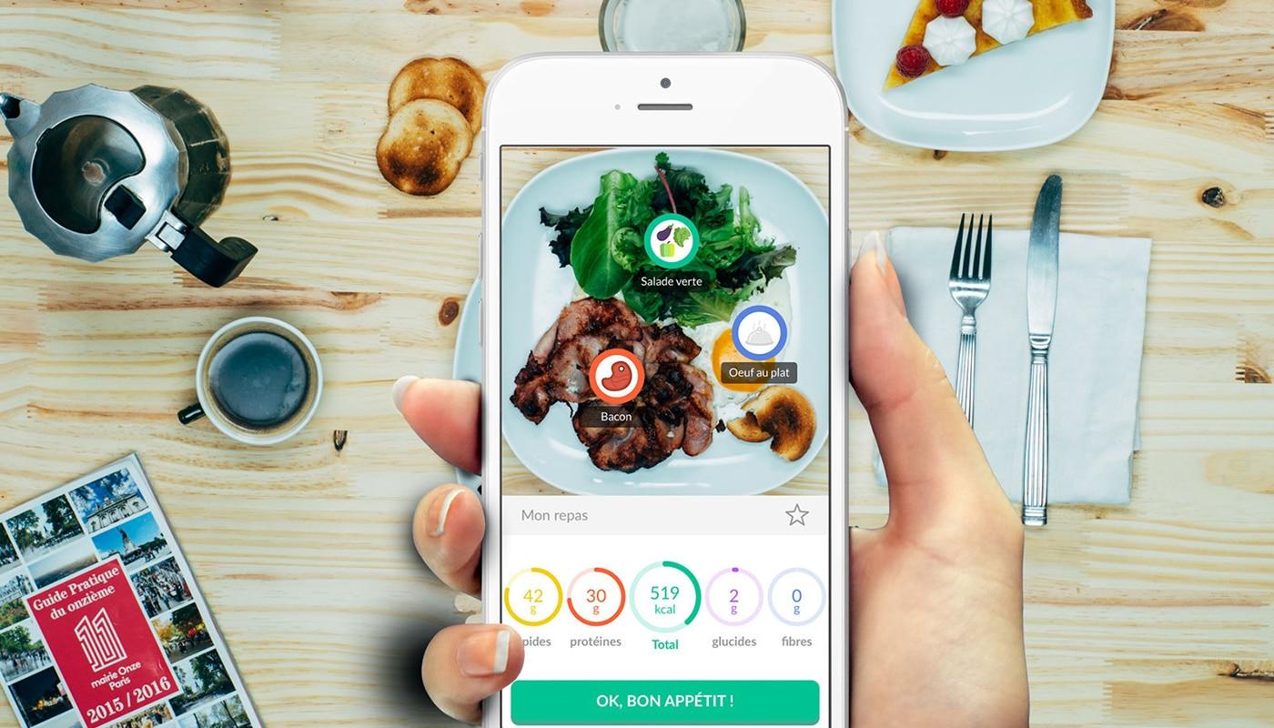 Foodwisor, l'appli qui analyse votre assiette à partir d'une photo