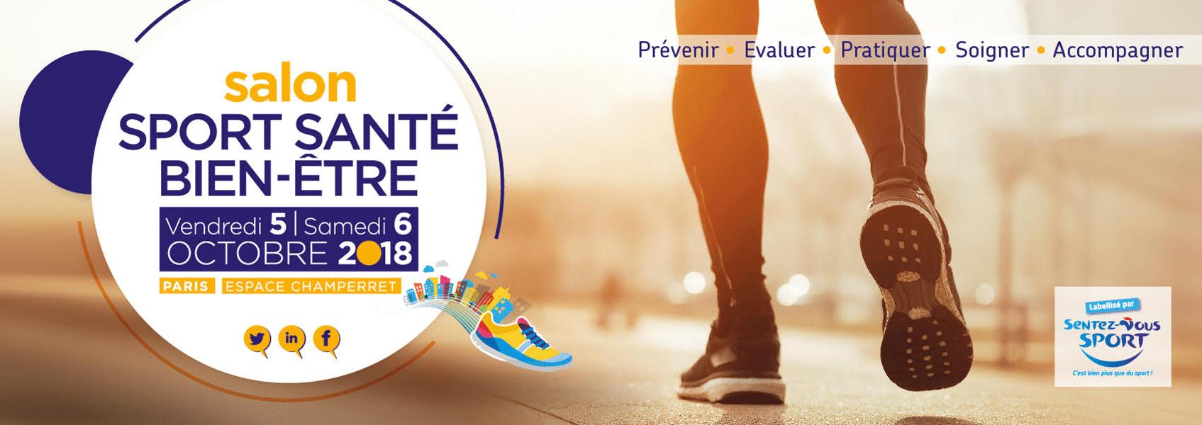 Salon Sport Santé Bien-être les 5 et 6 octobre 2018 à Paris