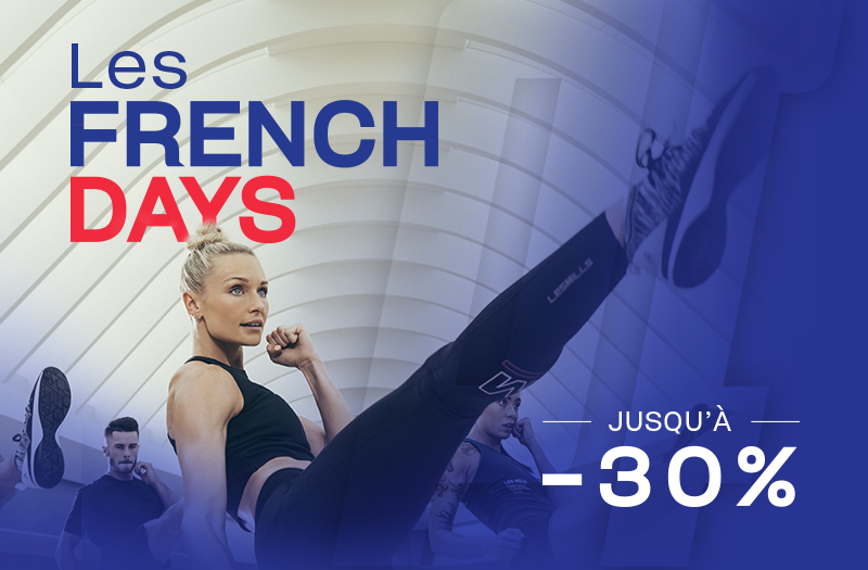 Profitez des French Days à la boutique Planet Fitness
