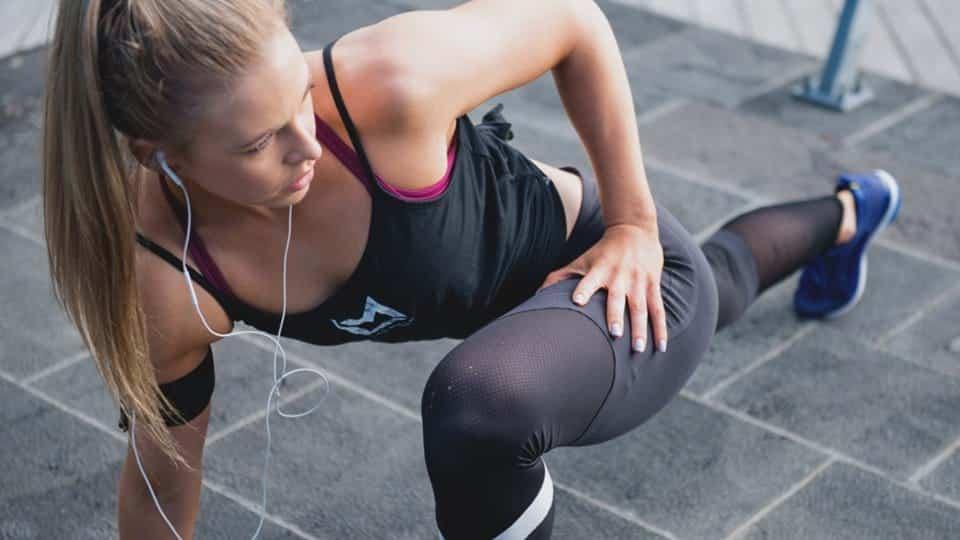 étirements entraînement fitness