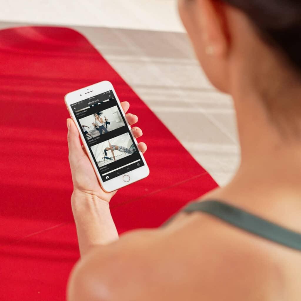 entraînements fitness en ligne