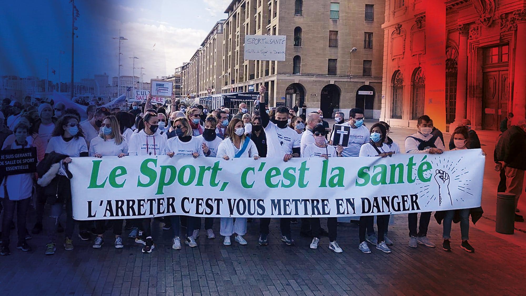 Covid-19 : Tous unis le 12 déc. pour sauver le fitness en France
