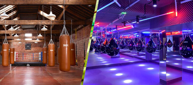 design salles boxe fitness
