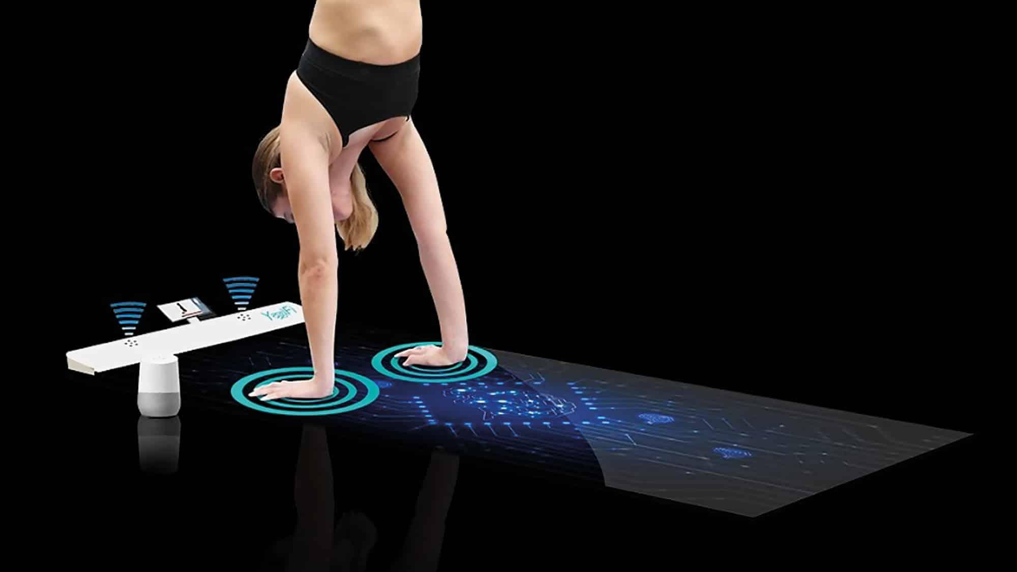 YogiFi, le tapis de Yoga le plus intelligent du monde