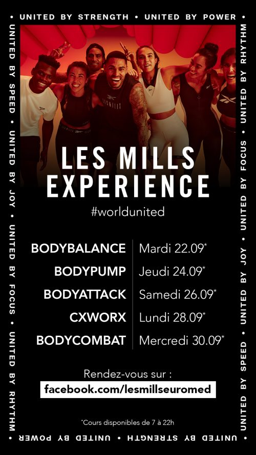 planning les mills experience